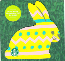 Starbucks 2020 Easter Yellow Bunny Collectible Gift Card New No Value - $1.99