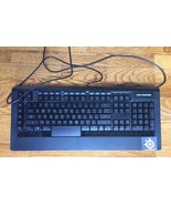 Steelseries Apex RAW Illuminated Black Gaming Keyboard 64121 USB - TESTE... - $44.99