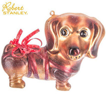Glitter Dachshund Dog Ornament Robert Stanly Christmas Decorations Glitt... - $18.99