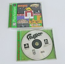 Namco Museum Vol 1 Complete and Frogger No Manual PS1 Game Playstation 1... - $12.64