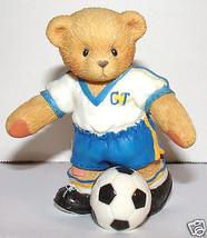Cherished Teddies Soccer Player Whitney We Make A Winning Team #302678 1997 - $17.99