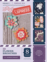 Anita Goodesign Express 3D Flower Brooches Embroidery Machine CD (CD ONLY) - $10.39