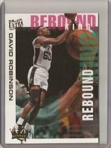 1994-95 David Robinson Fleer Ultra Rebound King #8 Basketball Card - $5.95