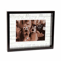 Disney Parks Picture Frame Clear Glass Sharing Disney Magic New with Box - $32.56