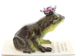 Hagen-Renaker Miniature Frog Prince Kissing Birthstone 10 October Tourmaline image 2