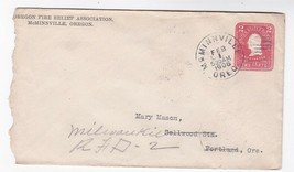 OREGON FIRE RELIEF ASSOCIATION McMINNVILLE, OREGON FEB 1 1906 - $1.78