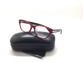 COACH 6050F 5236 Lakota Eyeglasses Frames Glasses Burgundy Logo 53mm Asian Fit - $67.87