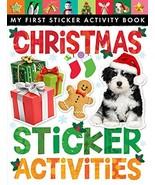 Christmas Sticker Activities (My First Sticker Activity Book) [Paperback... - $9.85