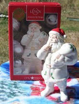Lenox SHH... Santa Weihnachtsmann Christmas Holiday Figurine Macy's Excl... - $15.84