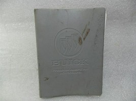 Buick Lesabre 1989 Owners Manual With Binder Case 14736 - $16.78