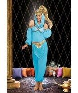 """CLASSIC SEXY """"GENIE IN A BOTTLE"""" ADULT HALLOWEEN COSTUME WOMEN SIZE LARGE - $45.70"""