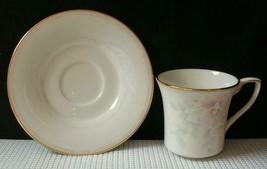 Sweet Surprise By Noritake Tea Cup & Saucer Fine China Japan #7702 Euc - $8.24