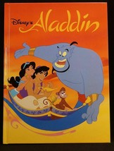 Disney Aladdin Classic Series Hardcover Book 1st Ed. Printed in Italy 1992 - $12.99