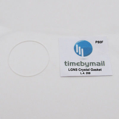 Primary image for For LONGINES L4.208 Watch CRYSTAL Gasket O Ring Seals New Spare Part P80F