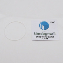For LONGINES L4.208 Watch CRYSTAL Gasket O Ring Seals New Spare Part P80F - $20.98