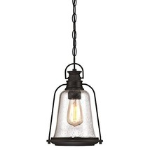 Westinghouse 6339900 Brynn One-Light Outdoor Pendant, Oil Rubbed Bronze ... - $58.71