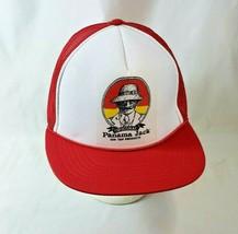 Vintage 1980s NOS Panama Jack Red Snapback Mesh Foam Trucker Hat - One Size - $27.76