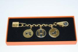 Hermes Gold Breloque Olga Bag Charm Amulette Cadena Berloque MINT YA15 - $3,087.61