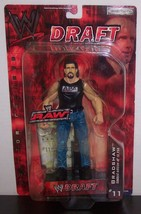 "NEW! 2002 Jakk's Pacific WWE Raw Draft #11 ""Bradshaw"" 7"" Action Figure {... - $15.83"