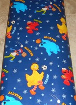 Sesame Street All Star Champ Gift Wrapping Paper 12.5 Sq Ft Roll - $7.00