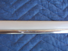 1999 1998 1997 DEVILLE BUMPER FASCIA CORNER WHITE CHROME TRIM CENTER MOL... - $62.27