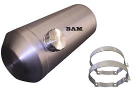10X24 Inch End Fill Spun Aluminum Gas Tank 8.25 Sandrail Dune Buggy W// Sending
