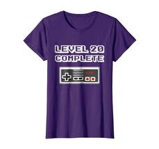 New Shirts - Level 20 Complete Retro Video Gamer 20th Birthday Gift Shirt Wowen image 5