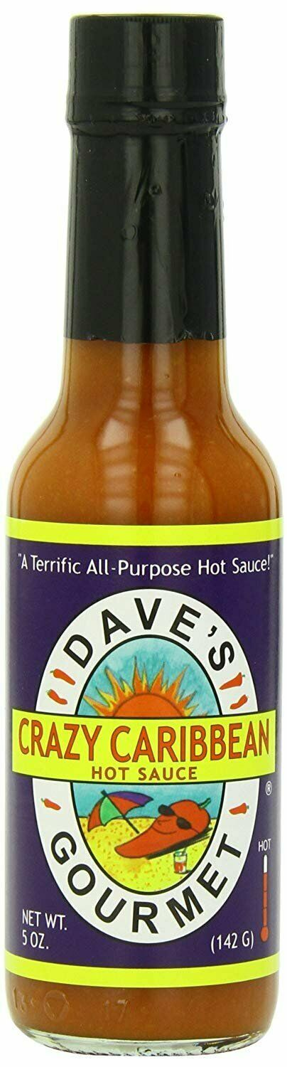 Primary image for Dave's Gourmet Sauce, Crazy Caribbean, 5 Ounce
