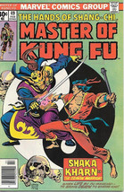 Master of Kung Fu Comic Book #49, Marvel 1977 FINE+ - $4.99