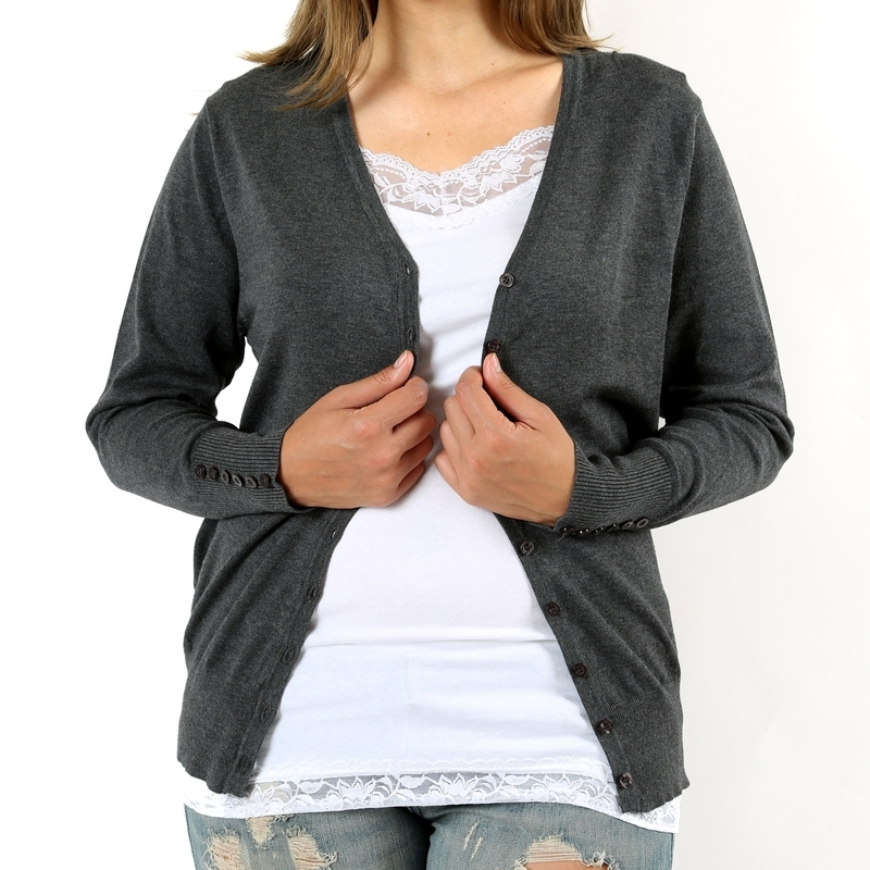 Plus Size Sweaters, Plus Size Cardigan, Plus Size Cardigan Sweater, Gray