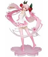 From Japan Hatsune Miku Sakura Miku Figure 2020 Ver. - $37.62