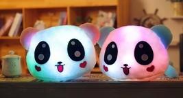 35cm Colorful Led Pillow Glowing Panda Plush Doll Luminous Toys-Gift for... - $25.99