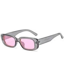 Black Sunglasses Men/Women Brand Designer Retro Sun Glasses Rectangle E... - $15.62