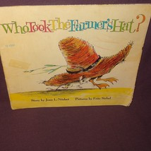 Who Took The Farmers Hat Book 1963 Paperback Fritz Siebel - $5.00