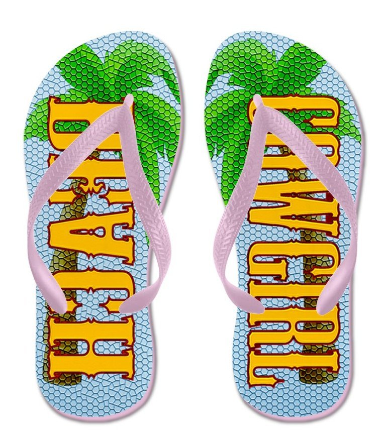d937026b9b7bc Beach Cowgirl Flip Flops with Pink Straps - and 50 similar items