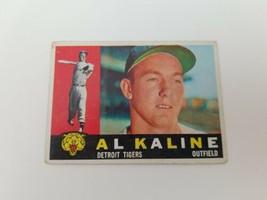 1960 Topps Al Kaline #50 Detroit Tigers Baseball Card Vg-Ex No Creases H... - $15.47