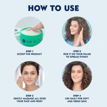 NIVEA Soft Light Moisturizer Cream Chilled Mint With Vitamin E & Jojoba Oil image 3