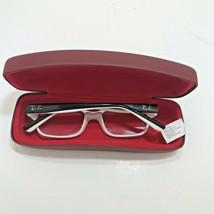 Ray-Ban Junior Eyeglasses Frames  RB 1527 3579 -47 15 Black/White Frame Case - $29.91
