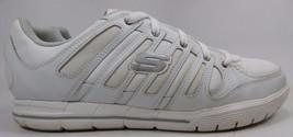Skechers Relaxed Fit Arcade II Men's Casual Shoes Sz US 13 M (D) EU 47.5 White