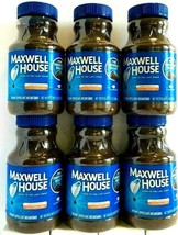 Maxwell House The Original Roast Instant Coffee 12 oz ( Pack of 6 ) - $69.29