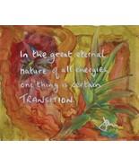 Meditation Art, Wisdom Art, Word Art, Yoga Art - Transition -   Quality ... - $23.00