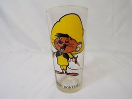 ORIGINAL Vintage 1973 Pepsi Looney Tunes WB Speedy Gonzalez Drinking Glass - $32.43