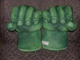 Marvel Incredible Hulk Talking Smash Boxing Glove Hands By Hasbro 2008 - $56.09