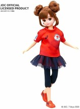 Licca chan Doll Tokyo Olympic Supporter Blue Official TAKARA TOMY Red as... - £46.53 GBP