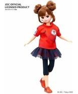 Licca chan Doll Tokyo Olympic Supporter Blue Official TAKARA TOMY Red as... - $64.35