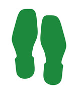 LiteMark Green Removable Bootprint Decal Stickers - Pack of 12 - $19.95