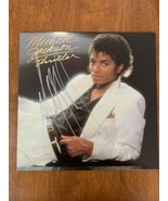 """MICHAEL JACKSON HAND SIGNED AUTOGRAPHED """"THRILLER"""" ALBUM CERTIFIED AUTHE... - $2,803.99"""