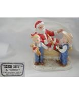 Denim Days Santas Visit Figurine by Homco - $28.04