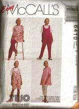 Vintage McCall's Pattern 6410 - Maternity Tunic, Jumpsuit & Pants - Size 14 - $9.99