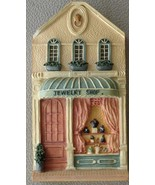 Super Cute Woodbury Way Collectible Wall Plaque Resin Good Condition - O... - $19.79